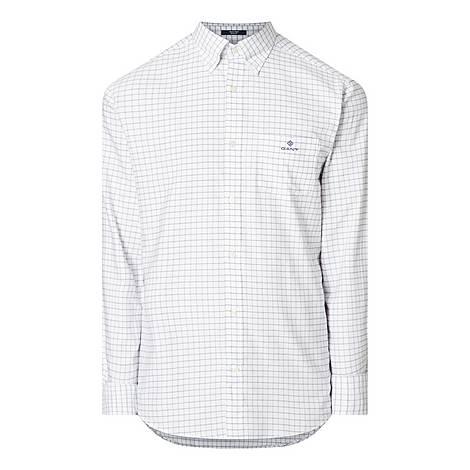 Checked Tech Prep Oxford Shirt, ${color}