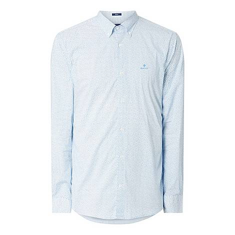 Ditsy Micro Print Shirt, ${color}