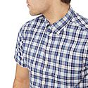 Broadcloth Gingham Short Sleeve Shirt, ${color}