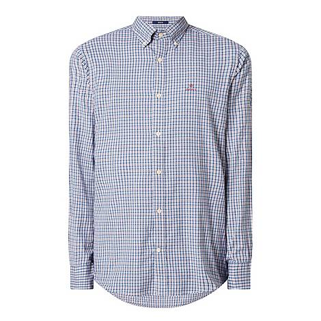 Windblown Checked Regular Fit Shirt, ${color}