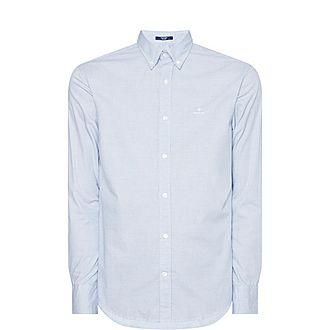 Micro Check Oxford Shirt