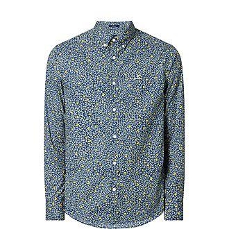 Lemonade Print Cotton Shirt