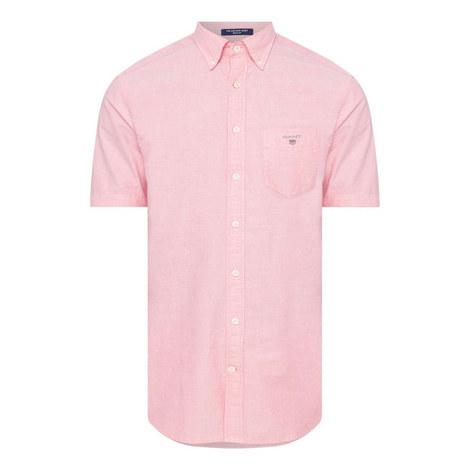 Short Sleeved Oxford Shirt, ${color}