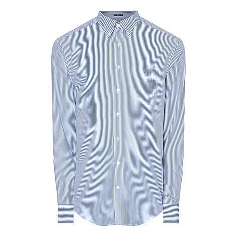 Banker Stripe Shirt, ${color}