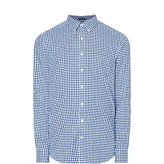 Regular Broadcloth Gingham Shirt