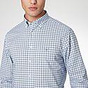 Pop 3 Check Cotton Shirt, ${color}