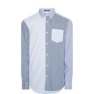 Mixed Pattern Shirt