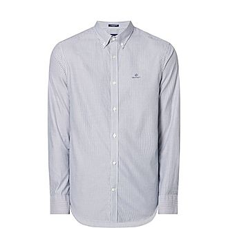 Pinstripe Oxford Shirt