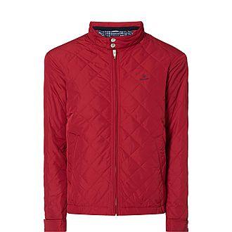 Quilted Windbreaker Jacket