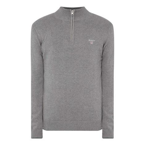 Classic Half-Zip Sweater, ${color}