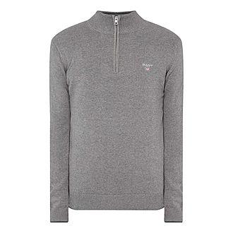 Classic Half-Zip Sweater