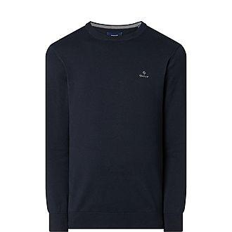 Classic Cotton Crew Neck Sweater