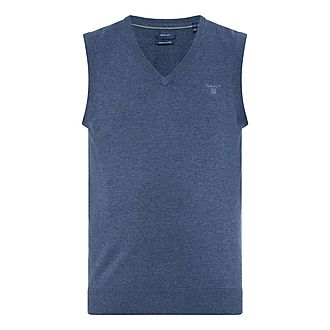 V-Neck Cotton Slipover