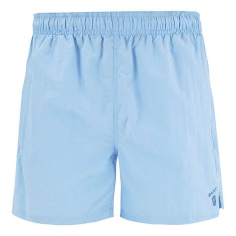 Classic Solid Swim Shorts, ${color}