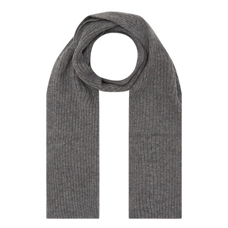Lined Knitted Scarf, ${color}
