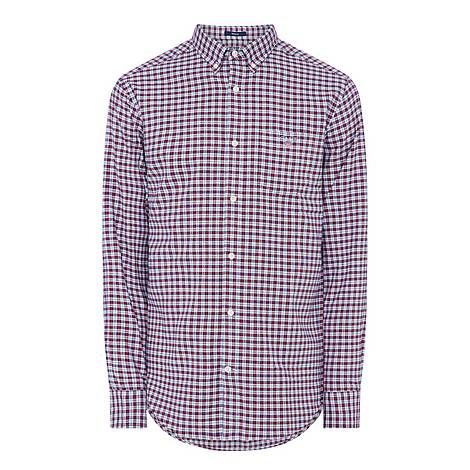 Pindot Oxford Check Shirt, ${color}