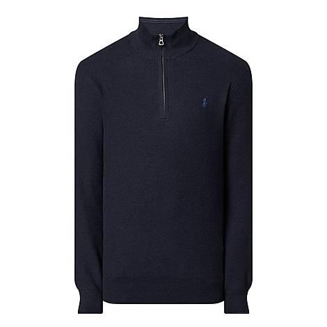 Half-Zip Sweater, ${color}