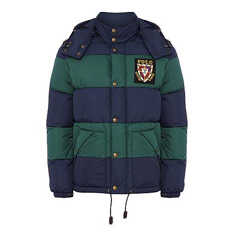 Water-Repellent Down Puffa Jacket, ${color}