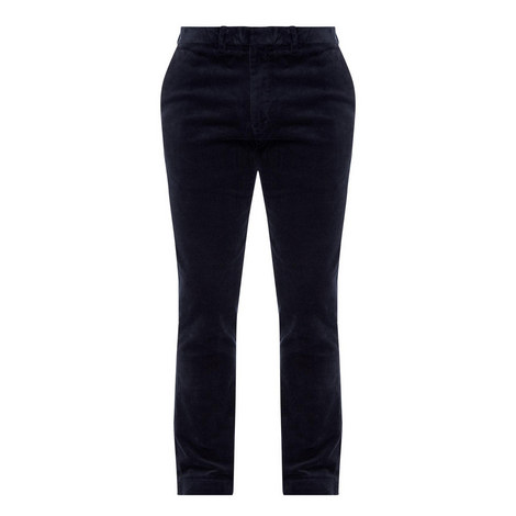 Slim Stretch Cord Trousers, ${color}