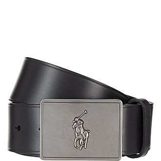 Polo Player Buckle Belt