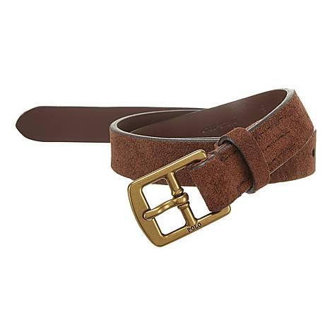 Suede Belt, ${color}