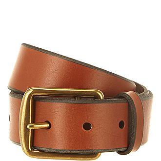 Saddler Leather Belt