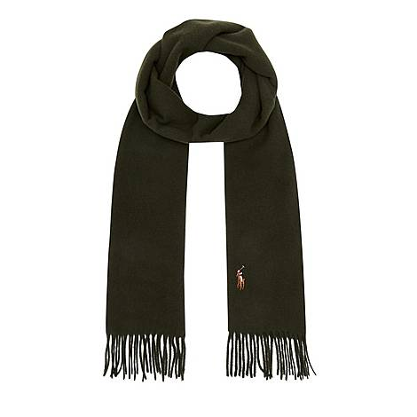 Signature Wool Scarf, ${color}