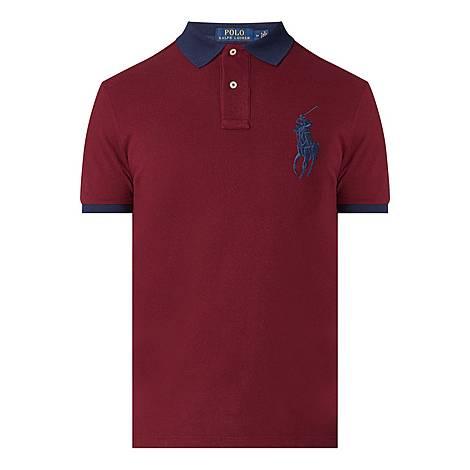 Big Logo Polo Shirt, ${color}