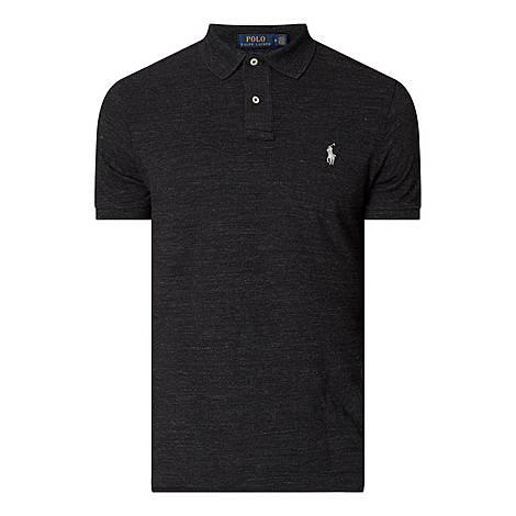 Marl Slim Fit Polo Shirt, ${color}