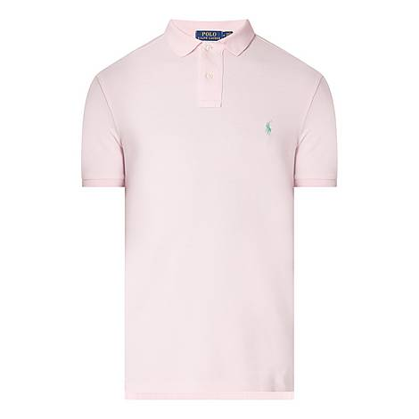 Mesh Polo Shirt, ${color}