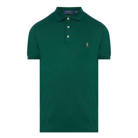 Pima Cotton Polo Shirt, ${color}