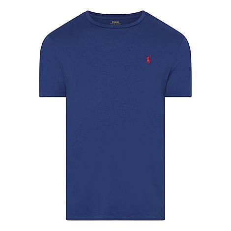 Basic Jersey Crew Neck T-Shirt, ${color}