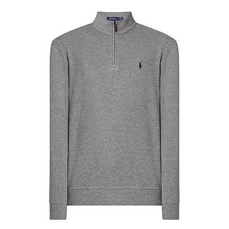 Cash Touch Half-Zip Sweatshirt, ${color}