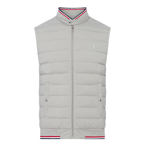 Jersey Padded Gilet, ${color}