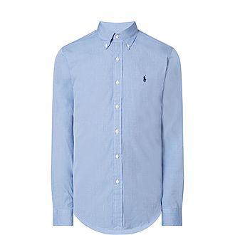 Slim-Fit Cotton Stretch Shirt