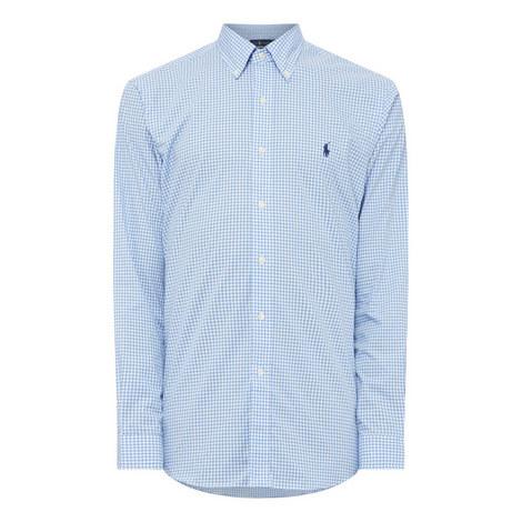 Check Poplin Shirt, ${color}