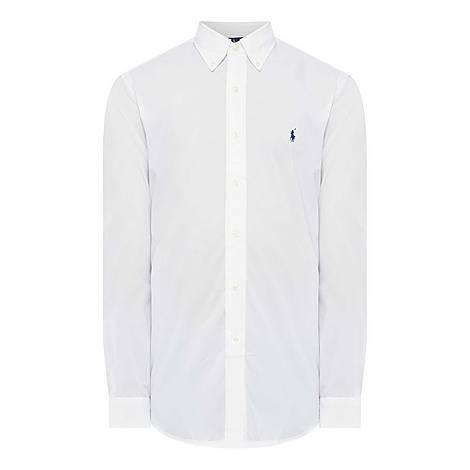 Plain Poplin Shirt, ${color}