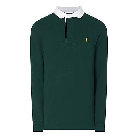 Rugby Long Sleeved Polo Shirt, ${color}