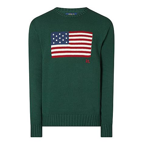 Flag Knit Sweater, ${color}