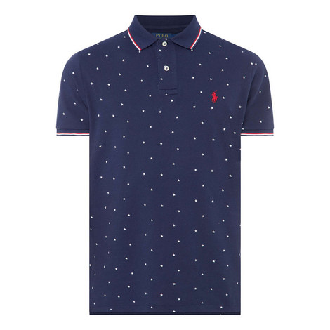 Americana All-Star Polo T-Shirt, ${color}