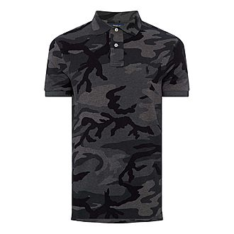 Custom Fit Camouflage Polo Shirt
