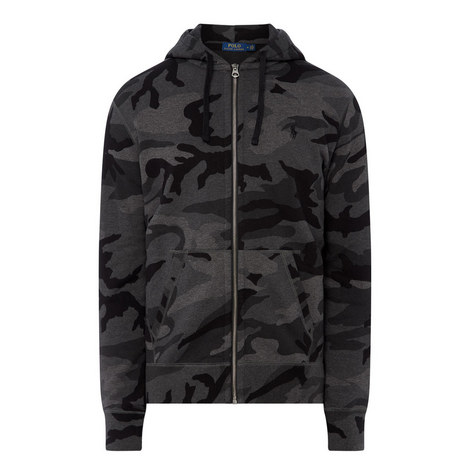 Camouflage Zip-Through Hoodie, ${color}