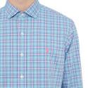 Check Cotton Stretch Shirt, ${color}