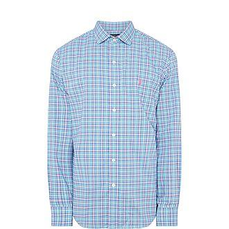 Check Cotton Stretch Shirt