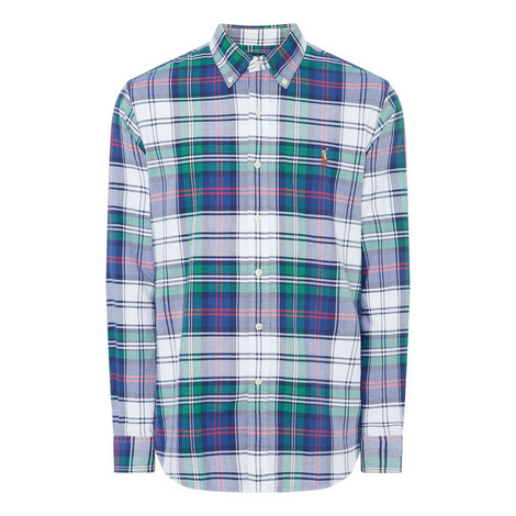 Large Check Custom Shirt, ${color}