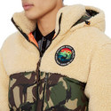 Panelled Down Coat, ${color}