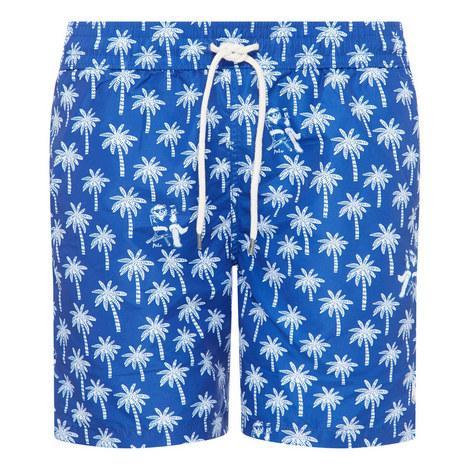 Palm Tree Swim Trunks, ${color}