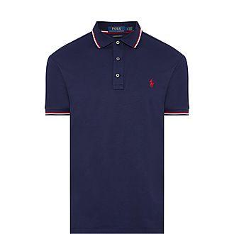 Pima Tipped Collar Polo Shirt