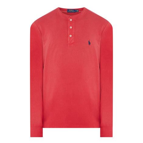 Henley Long Sleeve T-Shirt, ${color}
