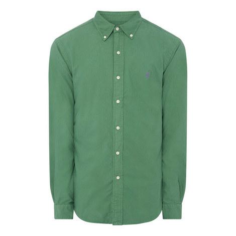 Garment Dye Slim Shirt, ${color}